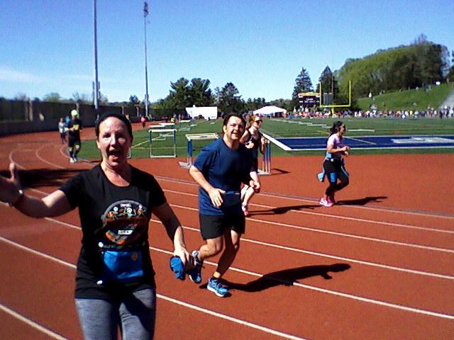 Sarah Monte at St. Luke's Half Marathon